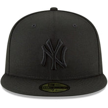 Load image into Gallery viewer, New York Yankees New Era Primary Logo Basic 59FIFTY Fitted Hat - Black