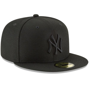 New York Yankees New Era Primary Logo Basic 59FIFTY Fitted Hat - Black - City Limit NY