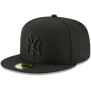 New York Yankees New Era Primary Logo Basic 59FIFTY Fitted Hat - Black