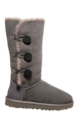 UGG Women's Bailey Button Triplet Grey