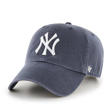 `47 Brand Clean Up New York Yankees Vintage MLB Dad Hat Cap , One Size