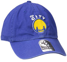 Load image into Gallery viewer, '47 Brand Golden State Warriors Clean Up Hat - Blue