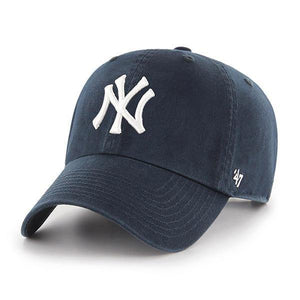 47 Brand New York Yankees Clean Up MLB Dad Hat Cap Navy , One Size - City Limit NY