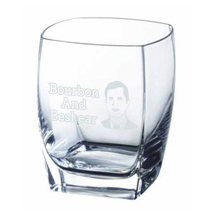 Andy Beshear Bourbon and Beshear Rocks Glass