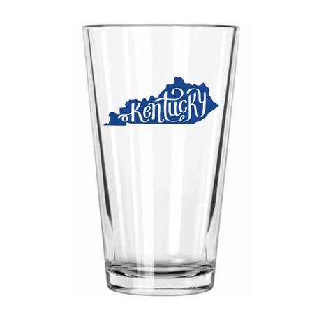 Kentucky Pint Glass