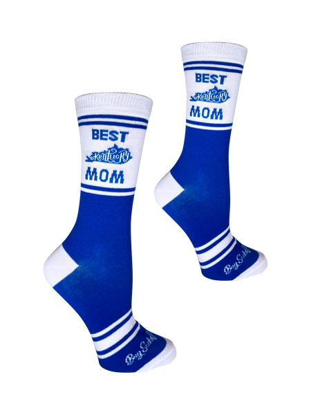 Best Kentucky Mom Blue and White