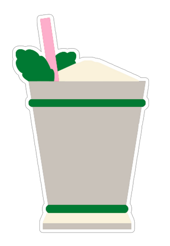 Mint Julep Sticker (6 pk)