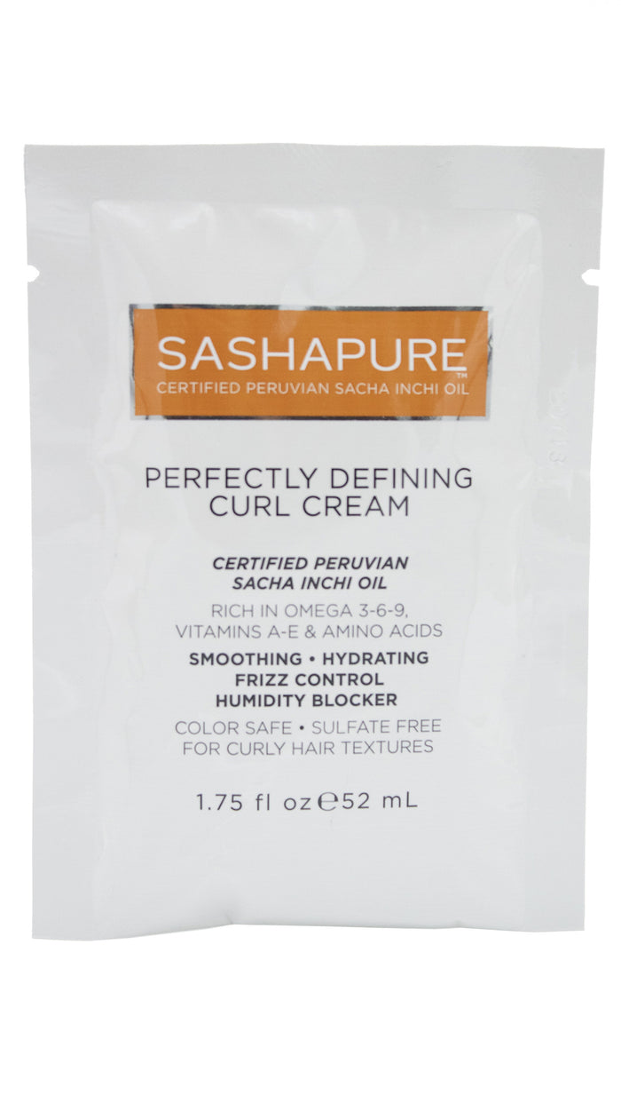 Sashapure Perfectly Defining Curl Cream Travel Packette