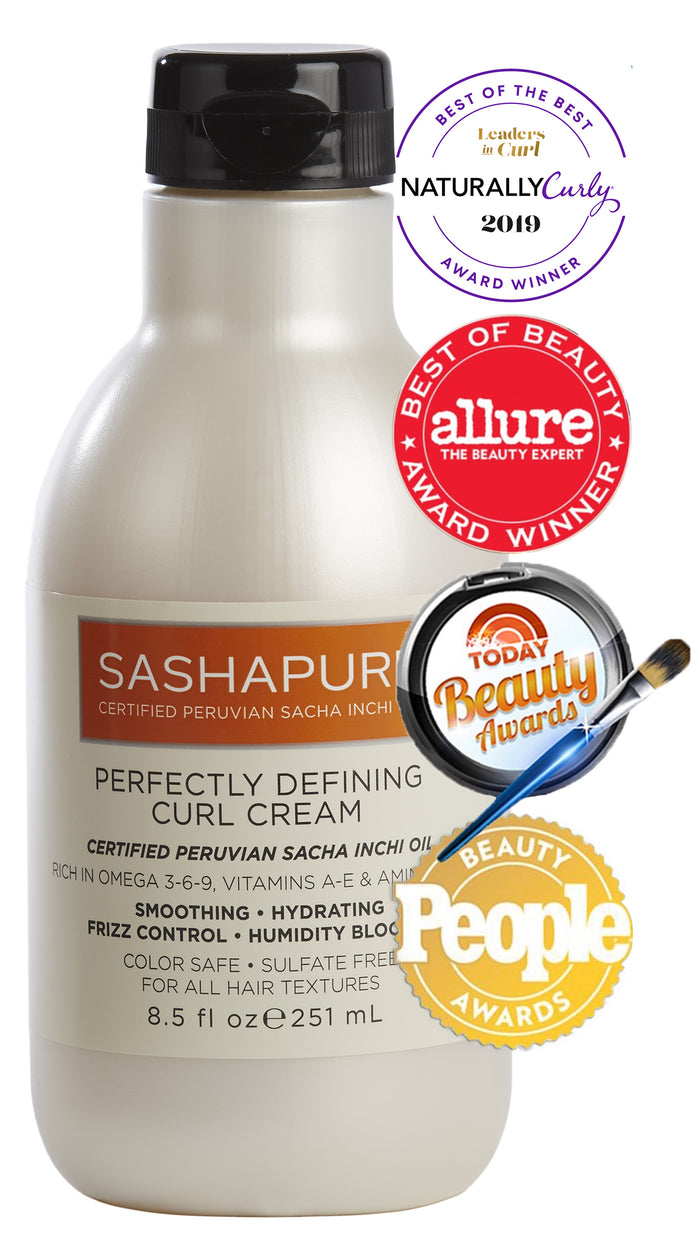 Sashapure Perfectly Defining Curl Cream