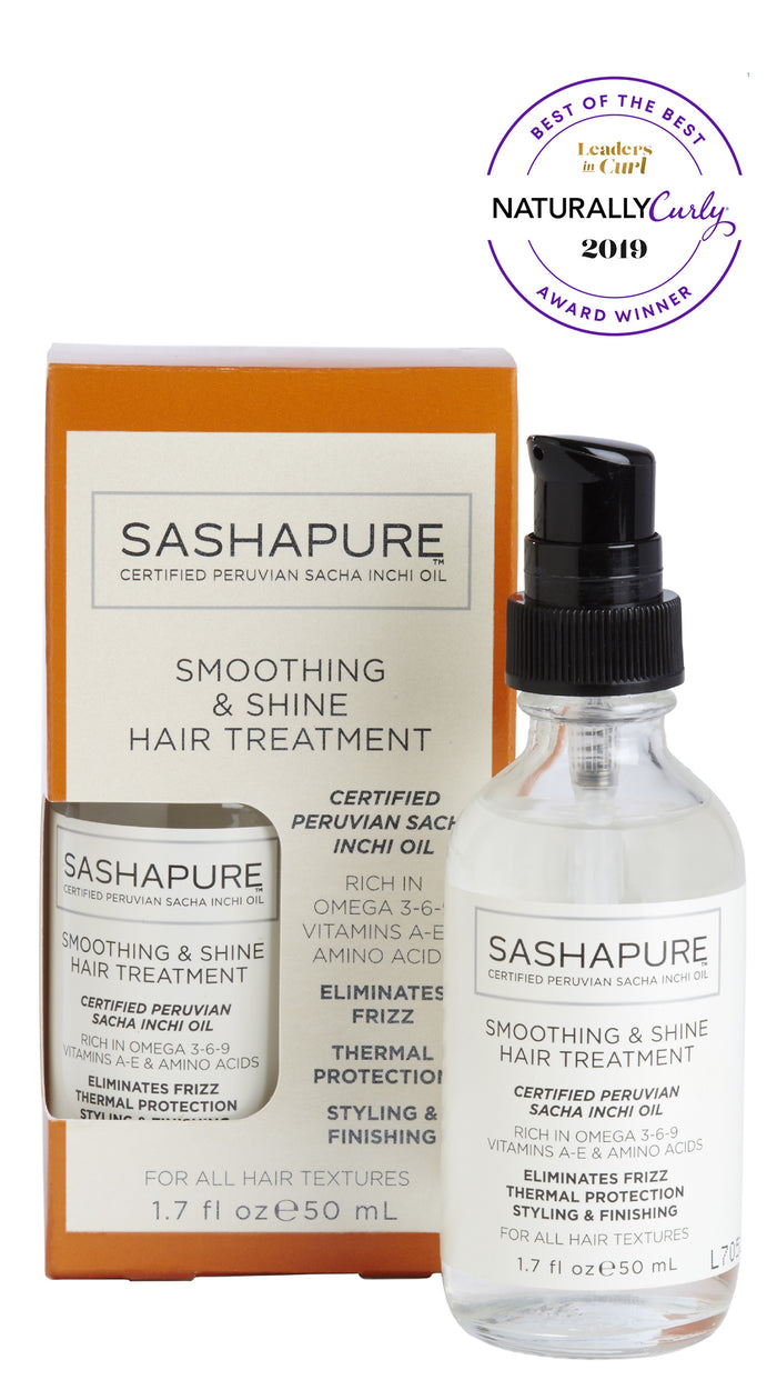 Sashapure Smoothing & Shine Hair Treatment