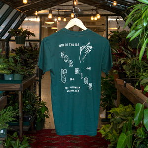 Green Thumb For Hire t-shirt