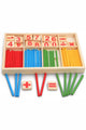 Math Wooden Counting Sticks