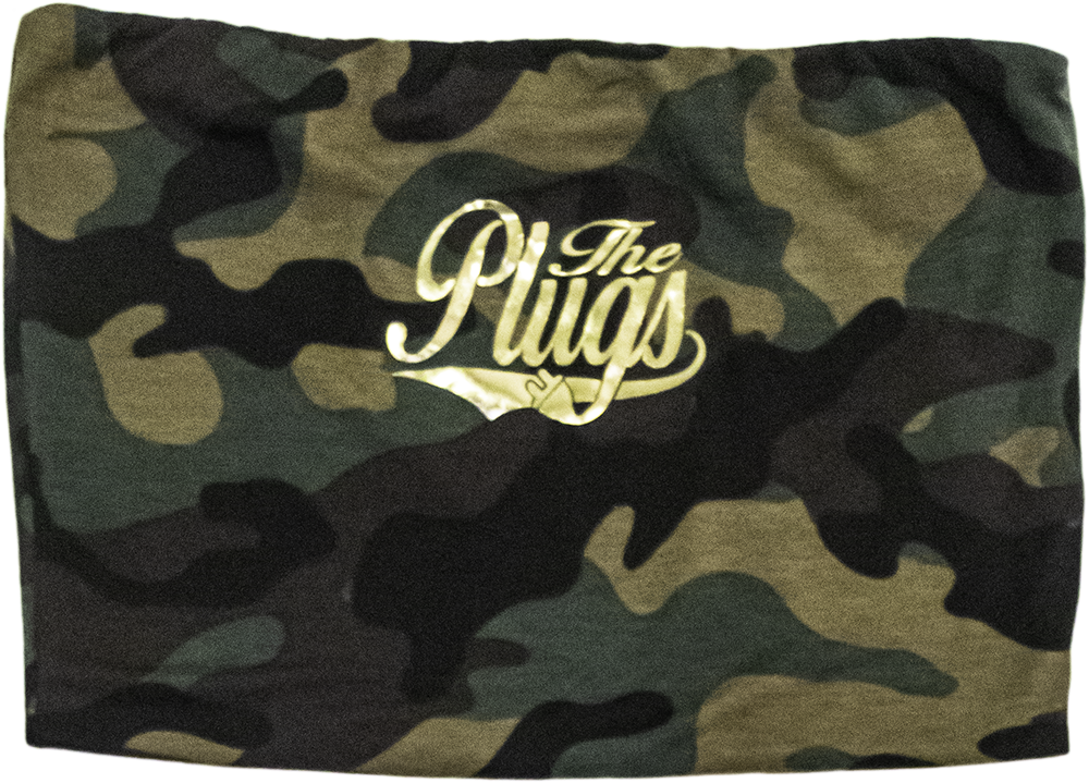 THE PLUGS CAMO TUBE TOP
