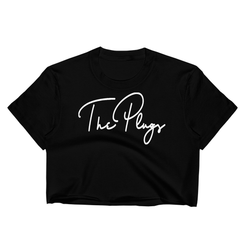 #SIGNEDBYTHEPLUG Crop Top