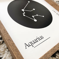 Aquarius Zodiac Constellation Sign