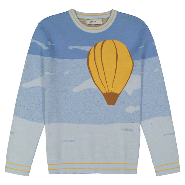 SKY TRAVEL CREWNECK