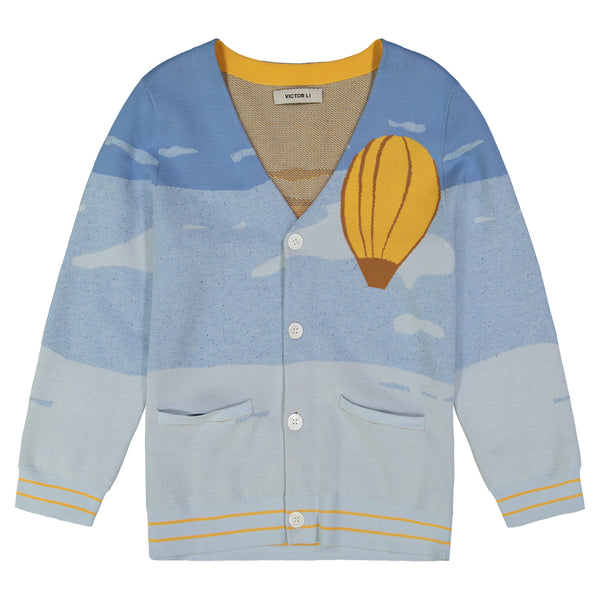 SKY TRAVEL CARDIGAN