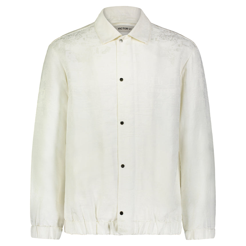 SNAP-DOWN SHIRT JACKET
