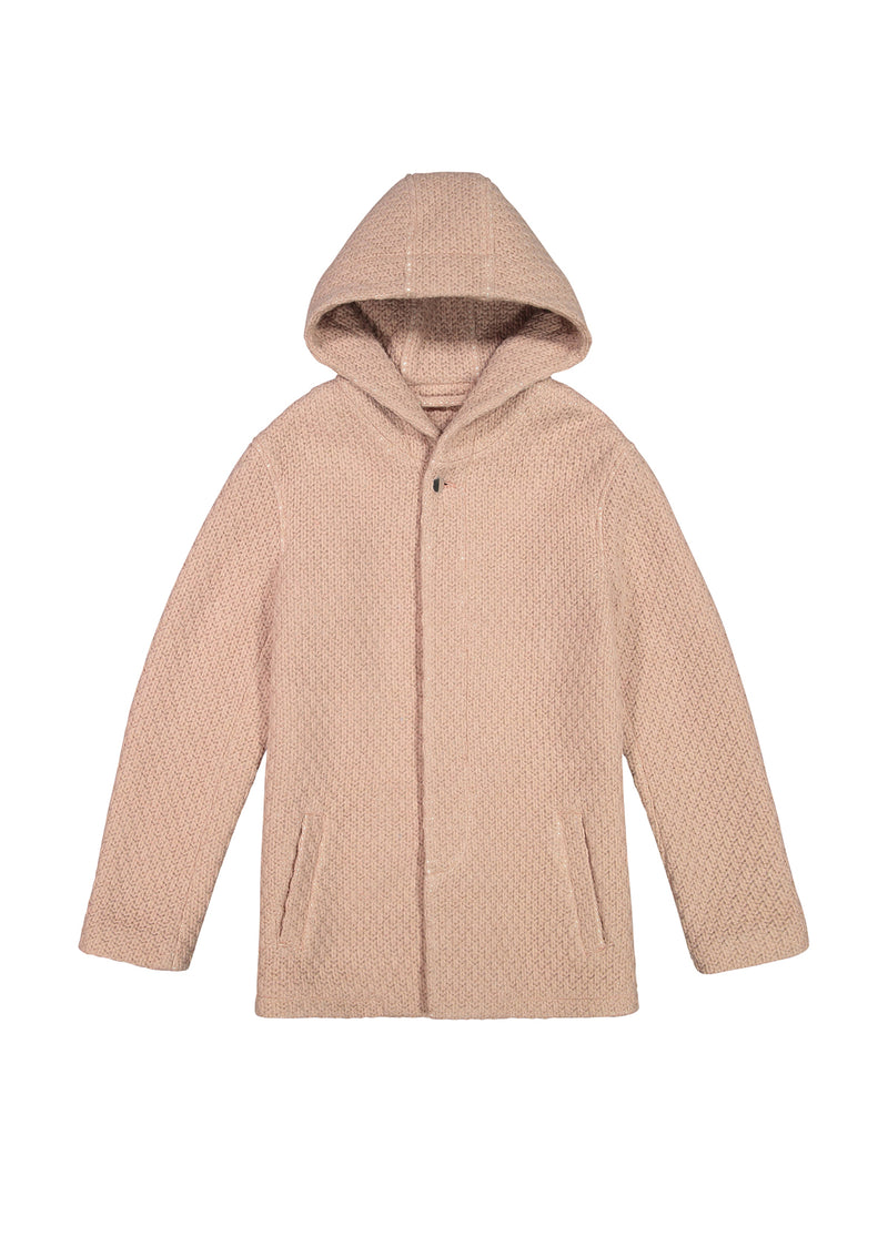Hooded Jacket Pink