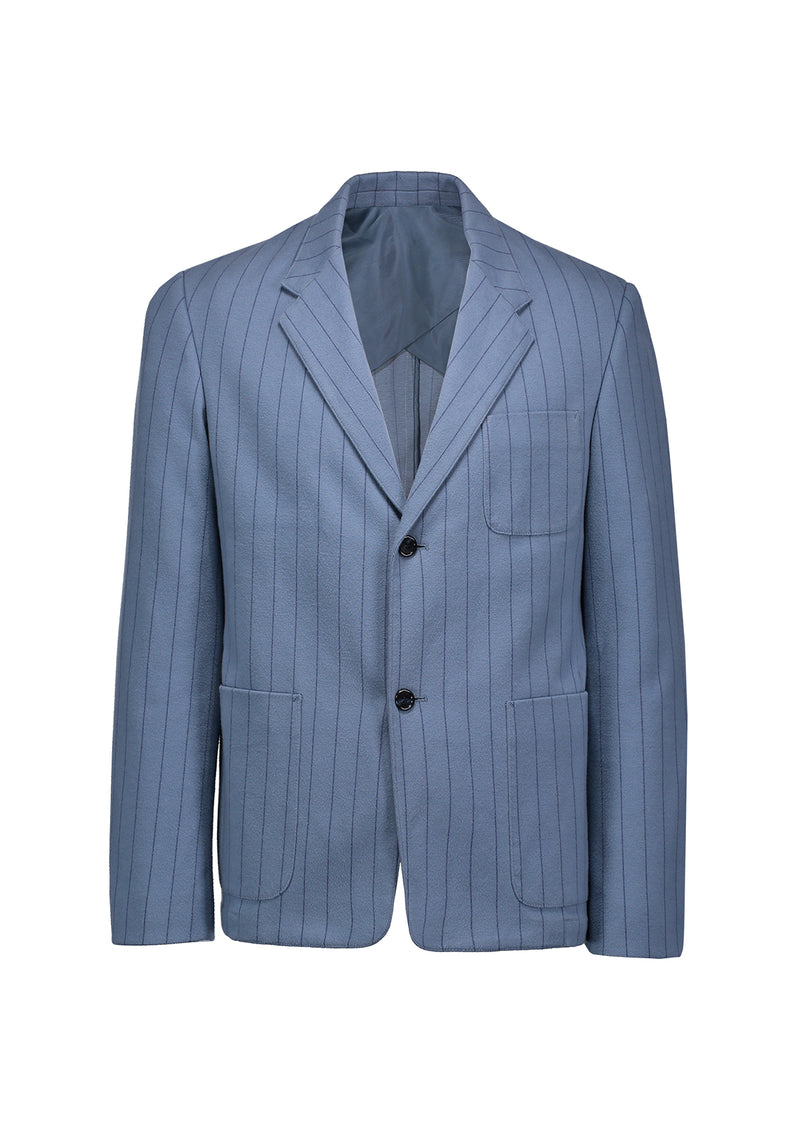 Jersey Blazer Dusty Blue