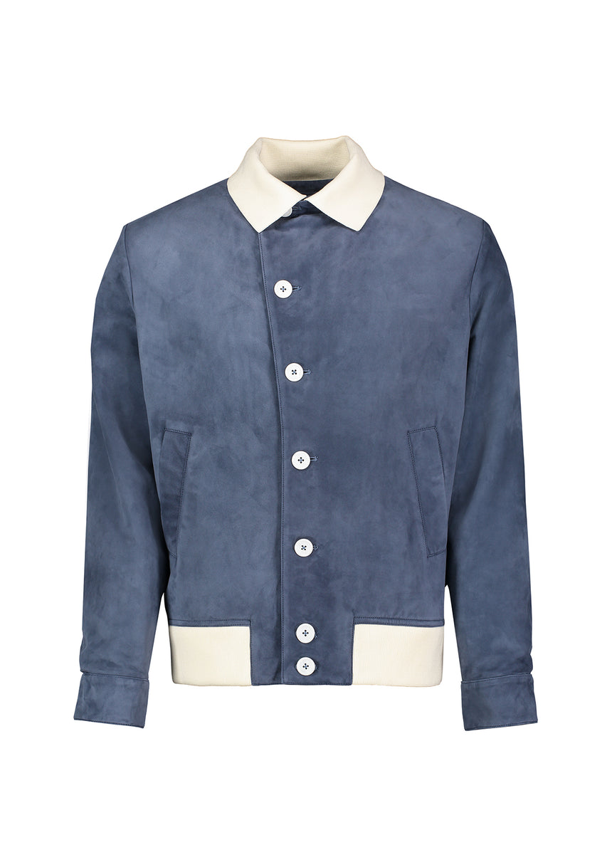 Lumber Jacket Slate Blue