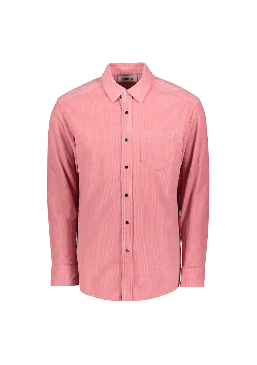 Button Down Shirt Pink