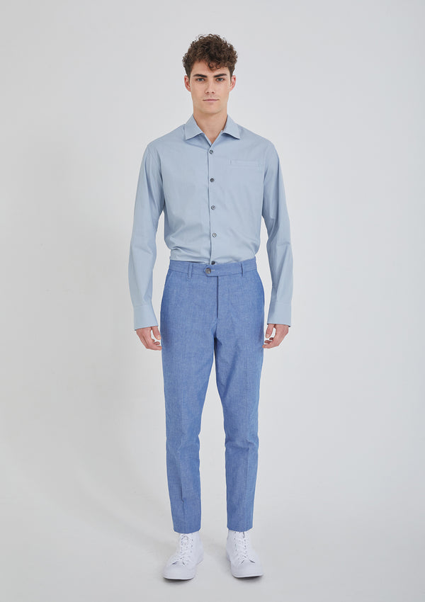 Cotton Pant Blue
