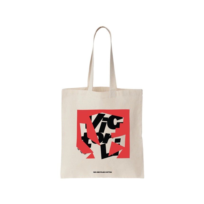 VL LOGO SHOPPING TOTE BAG