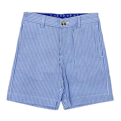 J. Bailey- Sailor Blue Stripe Seersucker Short