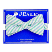 J. Bailey- Ocean Seersucker Bow Tie