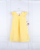 Gabby- Yellow Eyelet A-line Dress