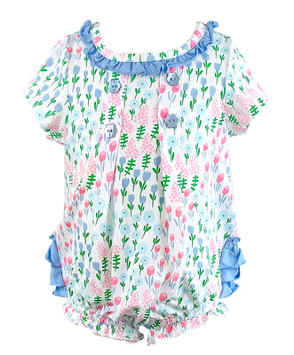 Tara Collection- Tulip Girl's Romper
