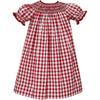 Claire & Charlie- Red Gingham Bishop