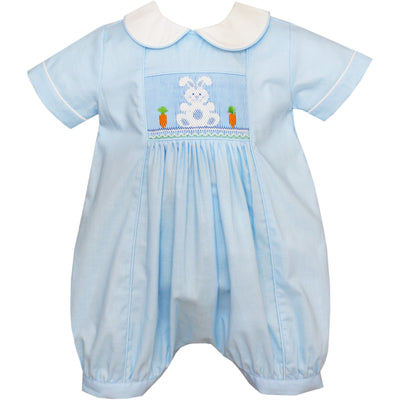 Anavini- Bunny Lt Blue Boy's Bubble