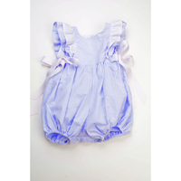 Funtasia Too- Blue Stripe Pinafore Bubble