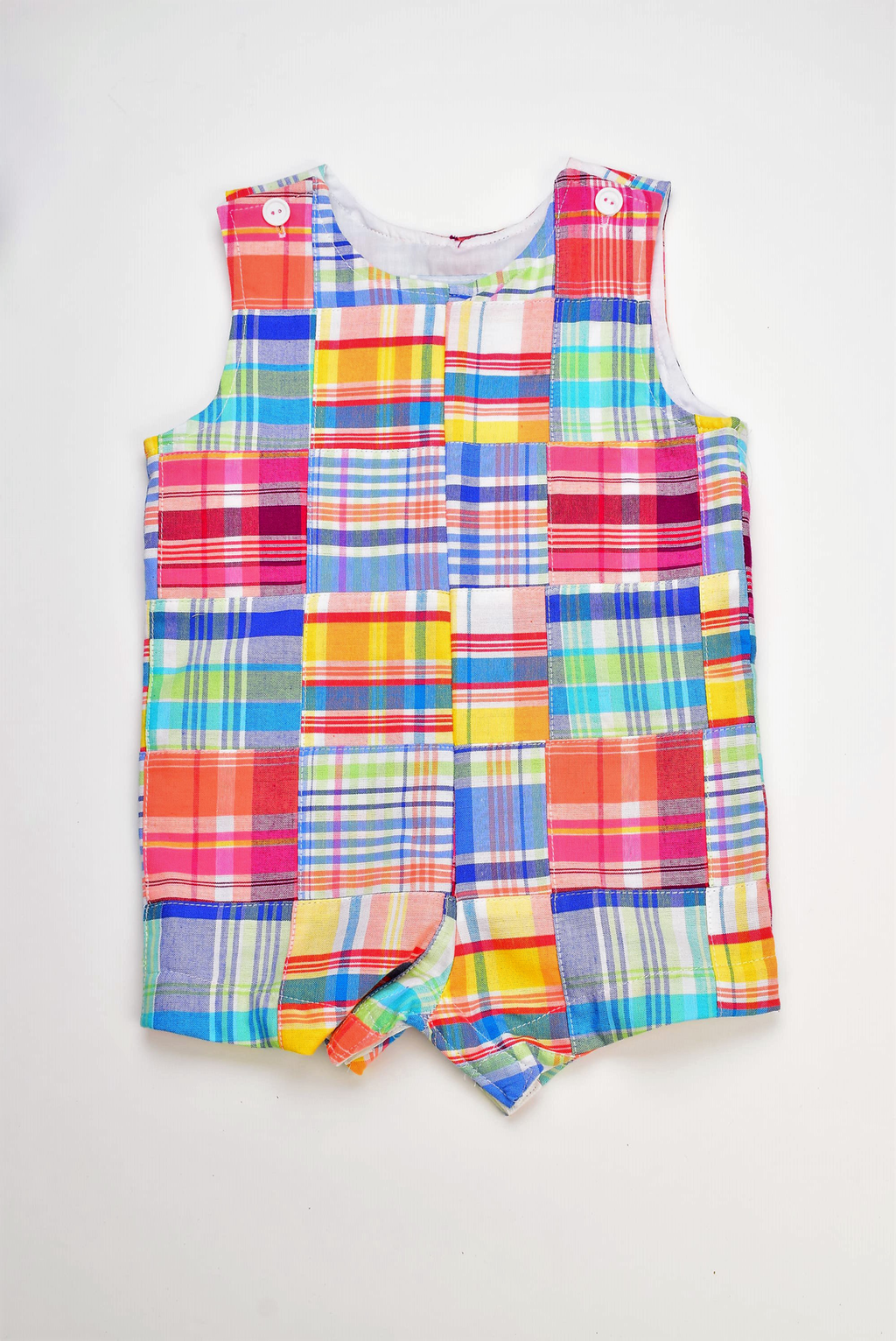 Funtasia Too- Pastel Patchwork Shortall