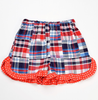 Funtasia Too- Flag Patchwork Girl Short Set
