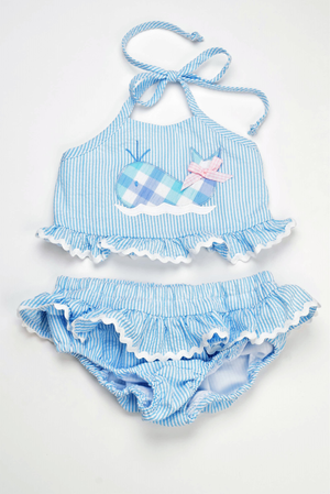 Funtasia Too- Whale 2PC Swimsuit