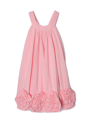Isobella & Chloe- Pink Flora Rose Bottom Dance Dress