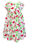 Tara Collection- Watermelon S/S Dress