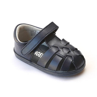 Angel Baby Leather Fisherman Sandal