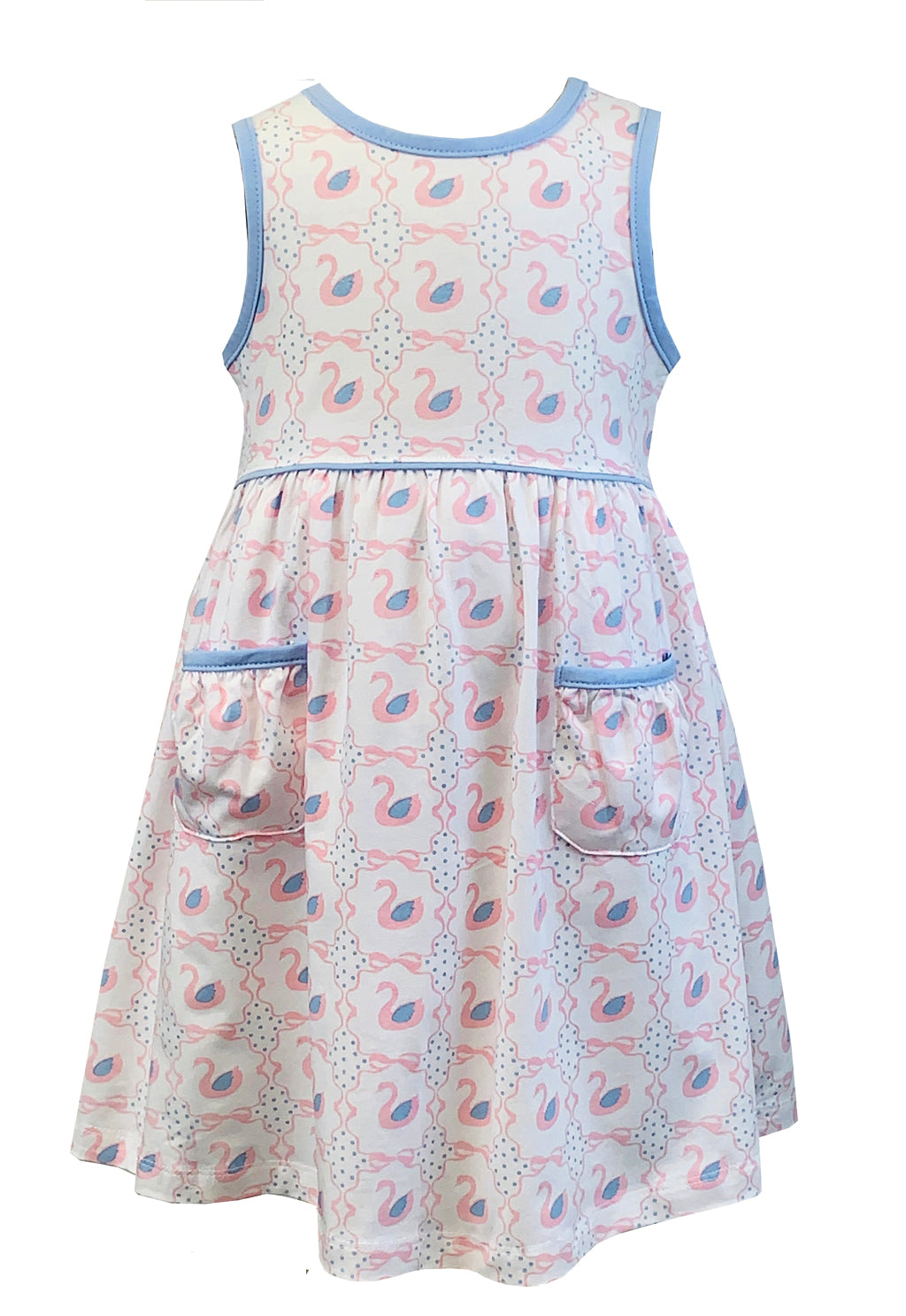 Tara Collection- Swan Sleeveless Dress