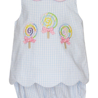 Claire & Charlie- Lollipops Bloomer Set
