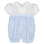 Feltman Brothers- Girls Double Breasted Romper