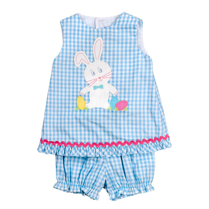 Bailey Boys- Thumper Criss Cross Bloomer Set