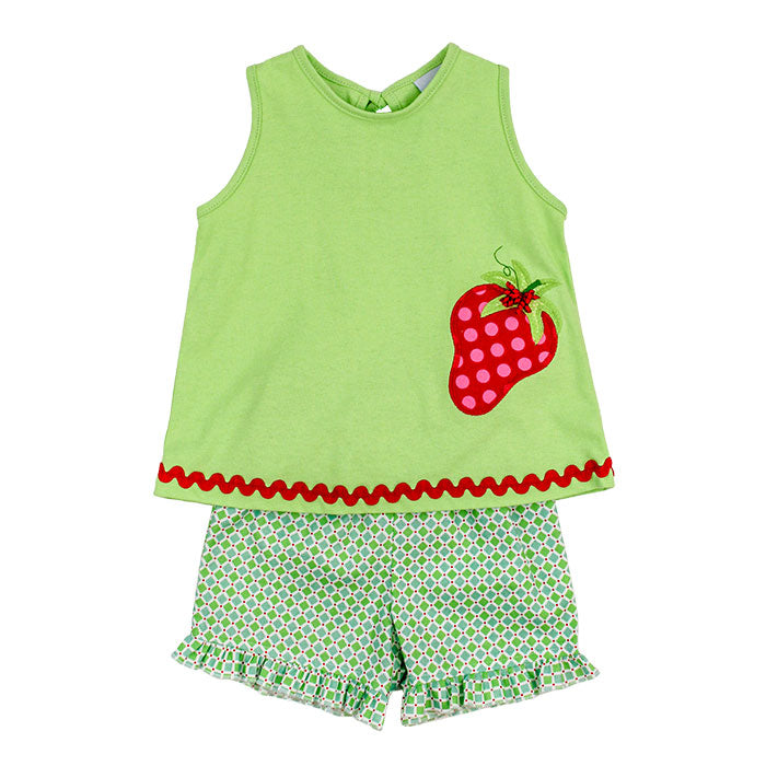 Bailey Boys- Berry Time Girl's Short Set