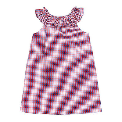 Bailey Boys- Marine Plaid Kiki Dress