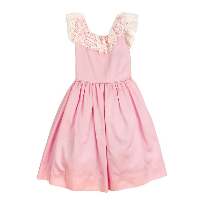 Bailey Boys- Pink Pearl Empire Dress