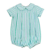 Bailey Boys- Mint Seersucker Dressy Bubble Short