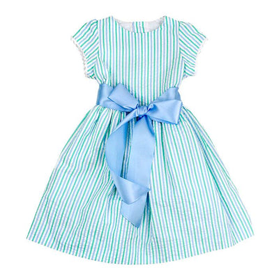 Bailey Boys- Mint Seersucker Dress